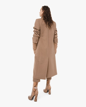 Melton Crushed Coat
