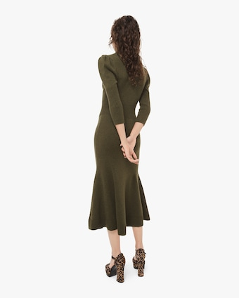 Cashmere Puff Dress