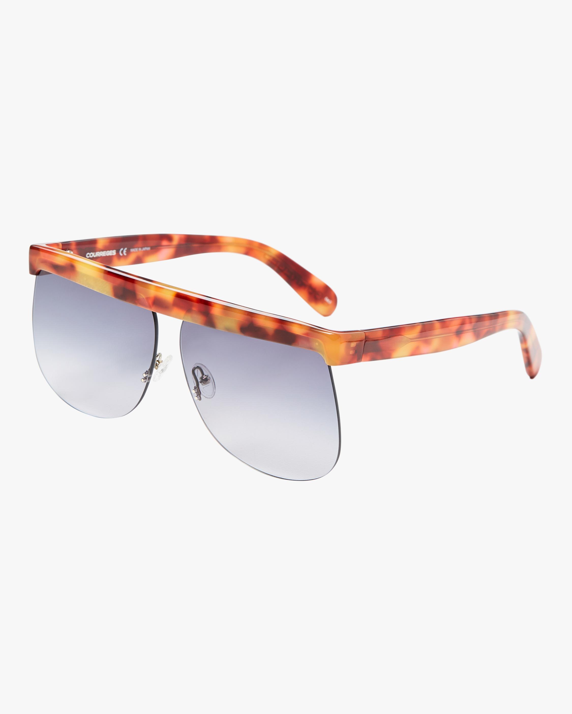 Courreges The Mask Oversized Sunglasses 1