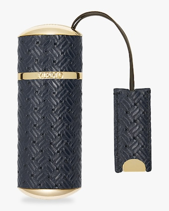 Memo Paris Navy Knitted Travel Spray Case 1