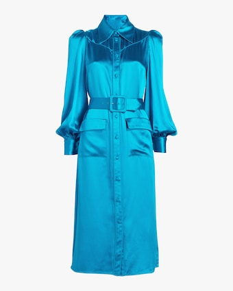 Divine Heritage Azure Shirt Dress 1