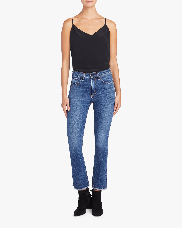 ASKK Crop Boot Jeans 1