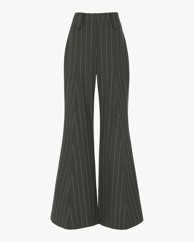 Pintuck Flare Pants
