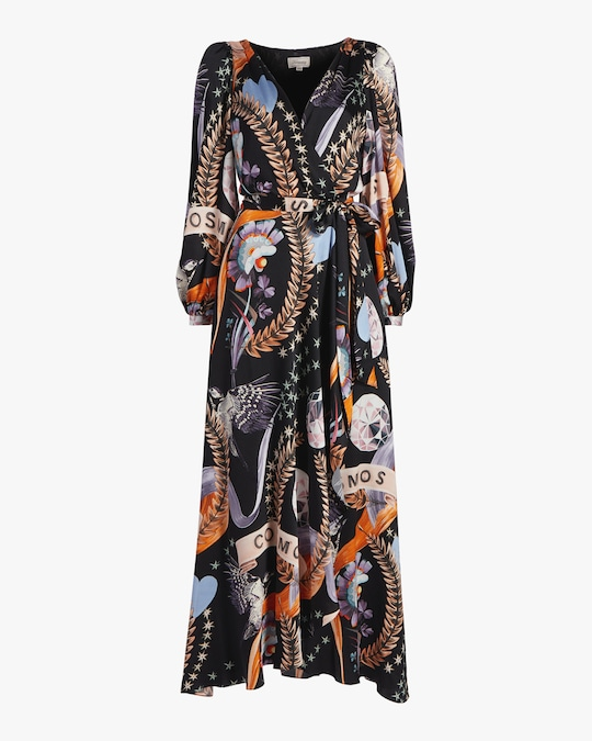 Temperley London Clementina Wrap Dress 0