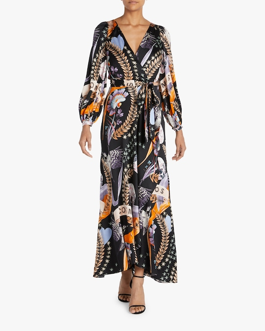 Temperley London Clementina Wrap Dress 1