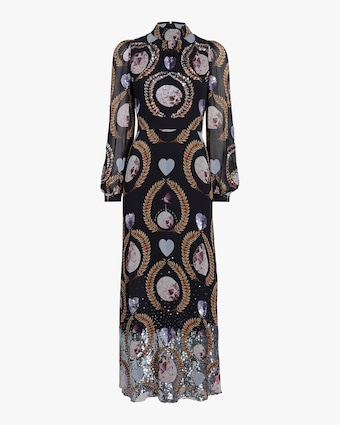 Temperley London Cosmic Gown 1