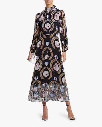 Temperley London Cosmic Gown 2