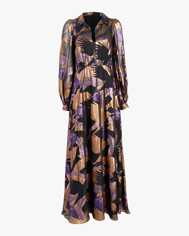 Temperley London Kitty Filcoupe Button Dress 0