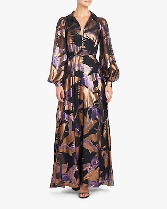 Temperley London Kitty Filcoupe Button Dress 2