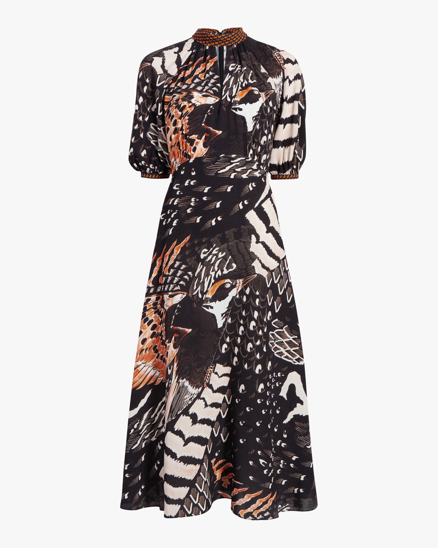 Temperley London Rosella Bird Dress 0