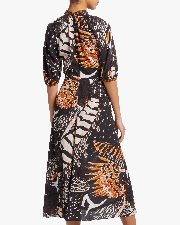 Temperley London Rosella Bird Dress 3