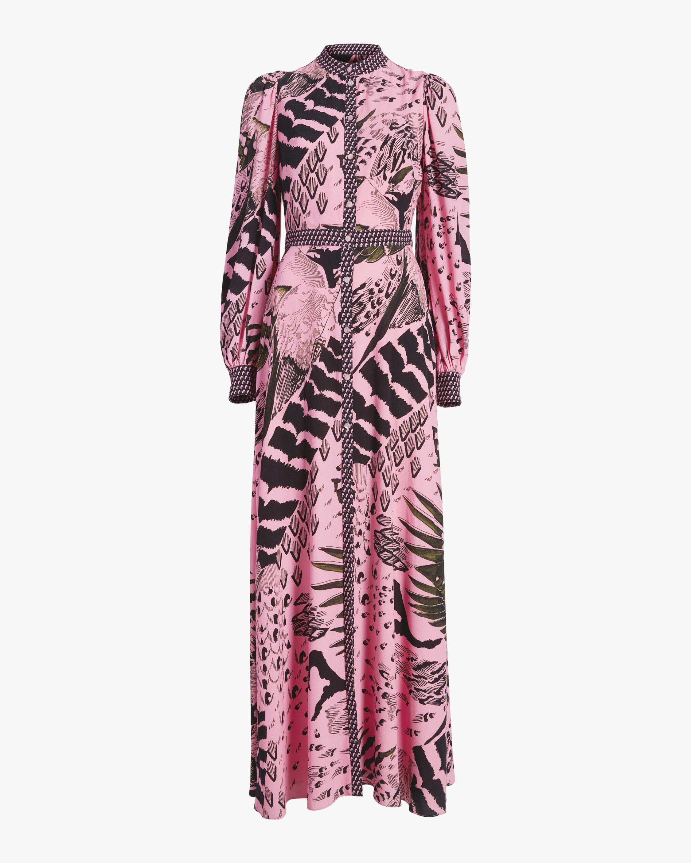 Rosella Bird Shirt Dress