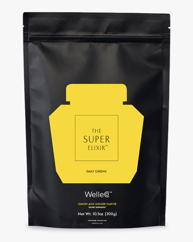 WelleCo WelleCo Super Elixir Greens Lemon and Ginger 300g Refill 0