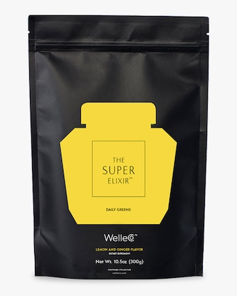 WelleCo Super Elixir Greens Lemon and Ginger 300g Refill