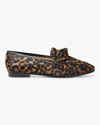 Alexandre Birman Becky Cheetah-Print Fur Loafers 1