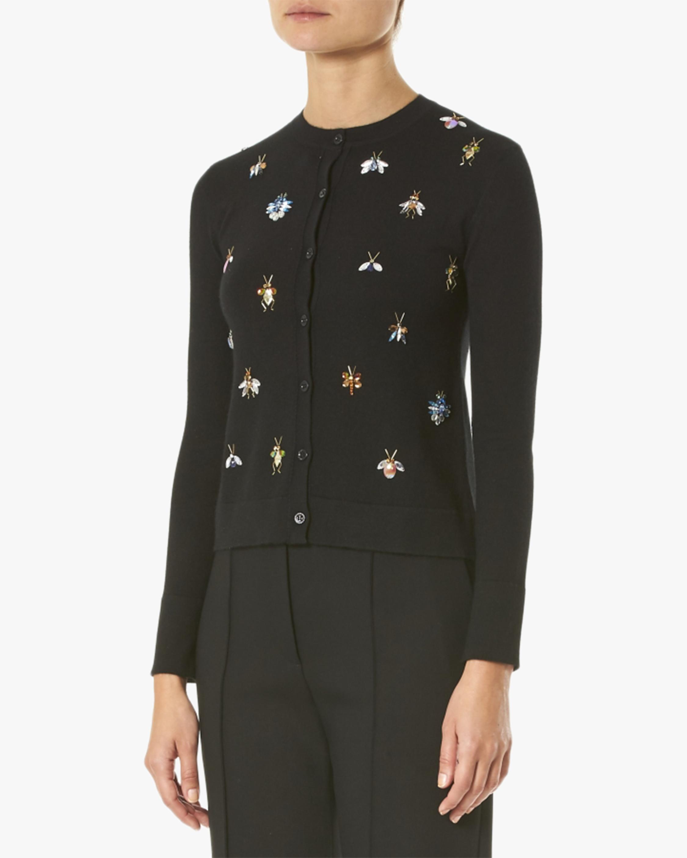 Embellished Cashmere & Silk Cardigan