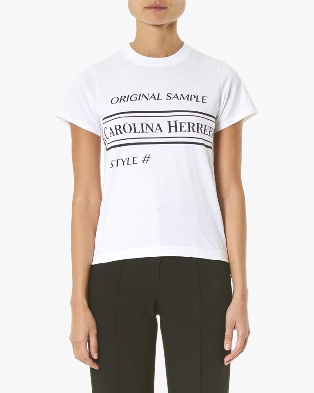 Intarsia logo T-shirt