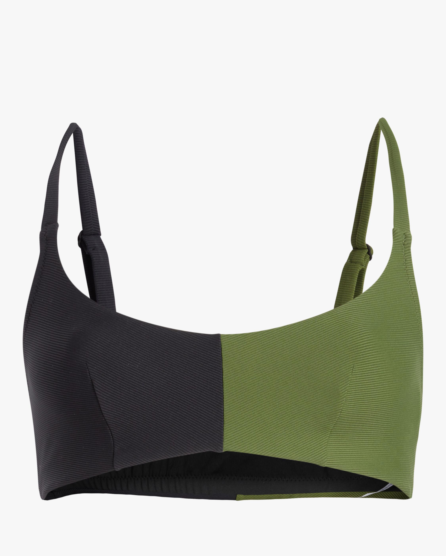 Colour Block Bikini Top