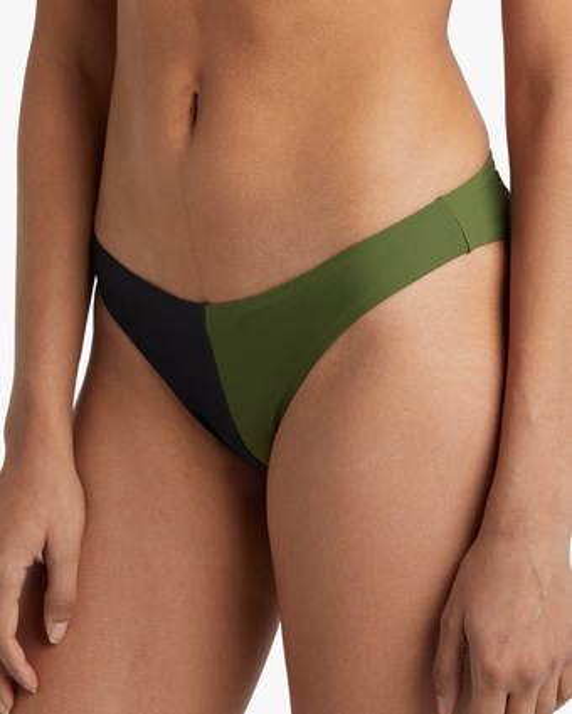 Colour Block Bikini Bottom