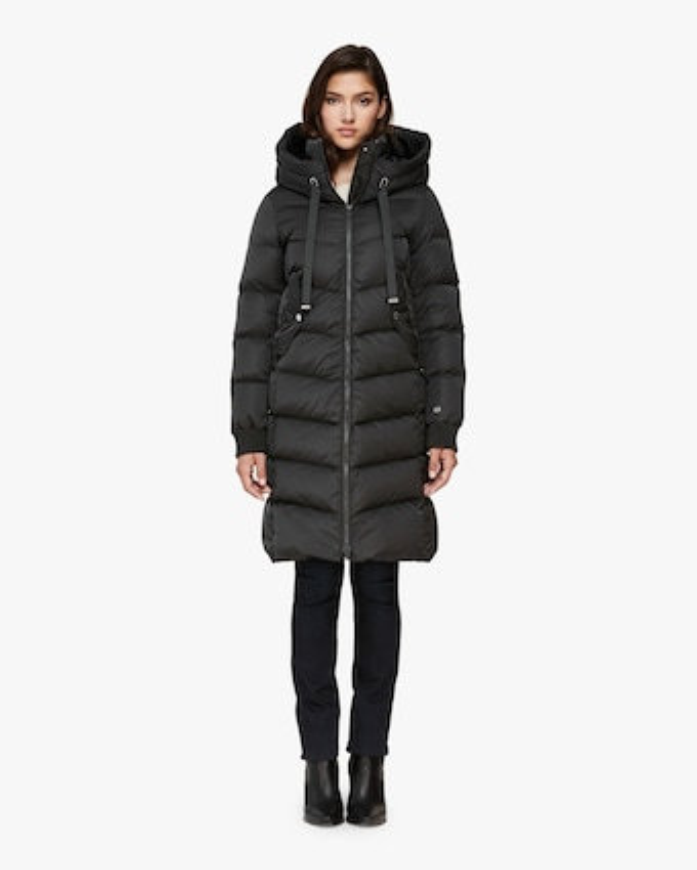 Rachela Knee-Lenght Puffer Coat