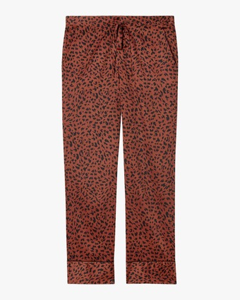 Animal Print Boys PJ Pants
