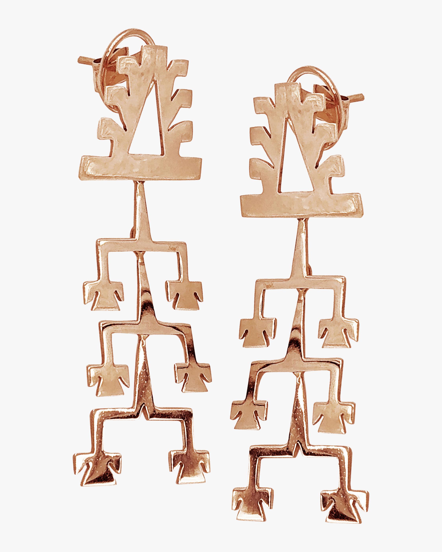 Millapani Lukutuwe Dancer Earrings 0