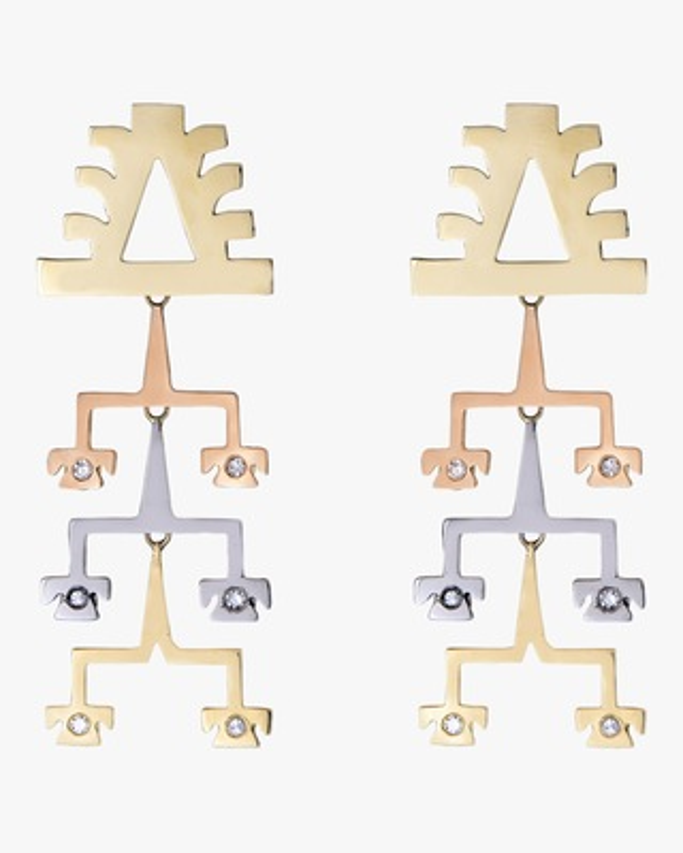 Millapani Lukutuwe Dancer Trio Earrings 1