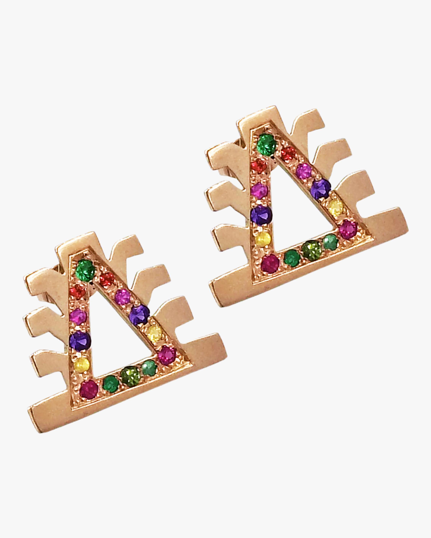 Millapani Lukutuwe Arcoiris Stud Earrings 1
