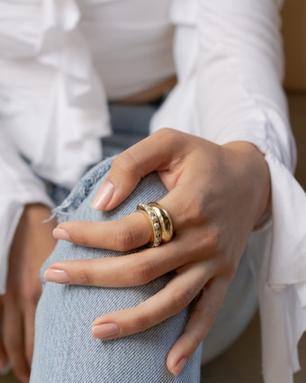Perla Band Ring