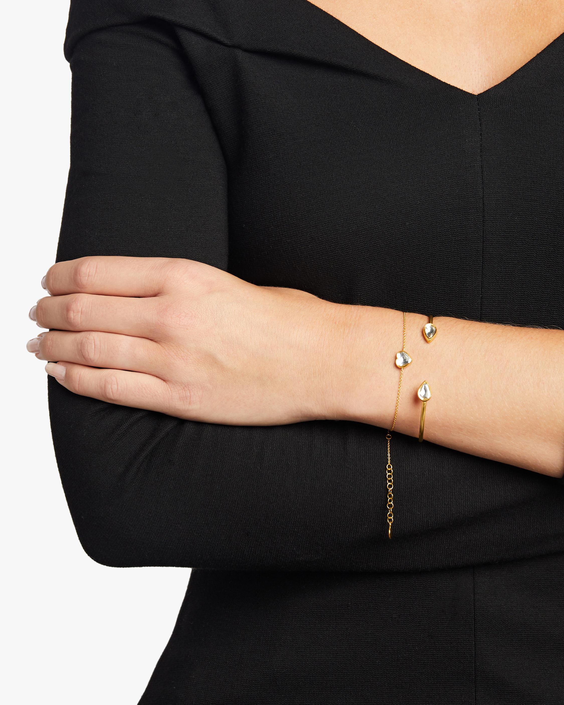 Legend Amrapali Kundan Vintage Diamond Teardrop Cuff Bracelet 1