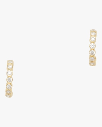 Tarakini Diamond Mini Hoop Earrings