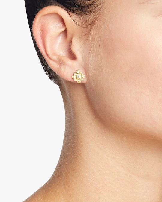 Legend Amrapali Heritage Jaipur Stud Earrings 1