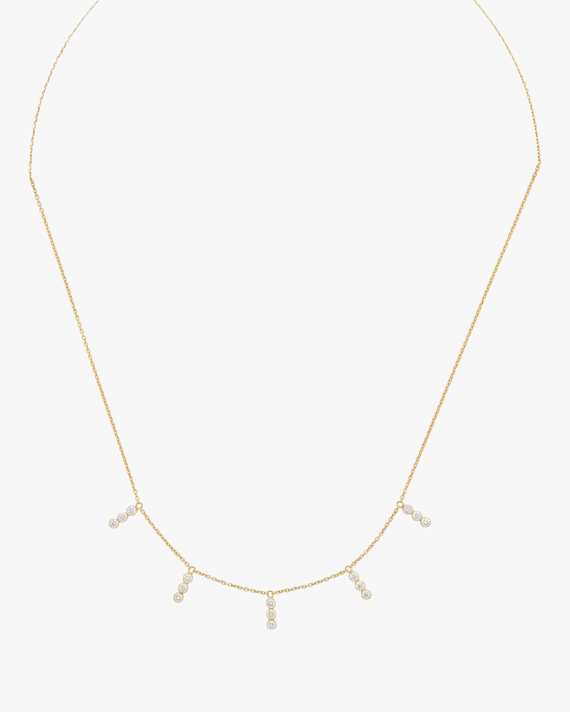 Tarakini Diamond Bar Necklace