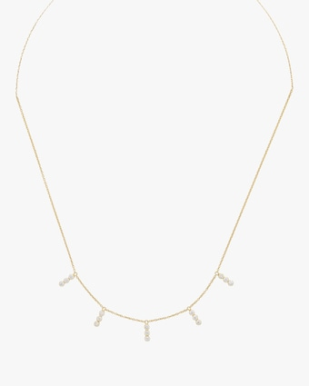 Tarakini Diamond Bar Necklace