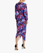 Ronny Kobo Emilia Painterly Floral Midi Dress 2