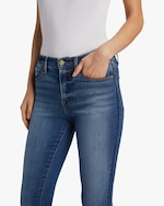 Frame Le High Skinny Tux Piping Jeans 3