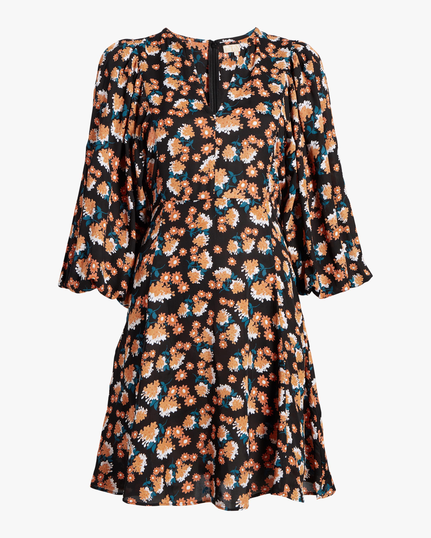 byTimo Vintage Drape Mini Dress 0