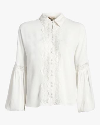 Elegant Lace Shirt