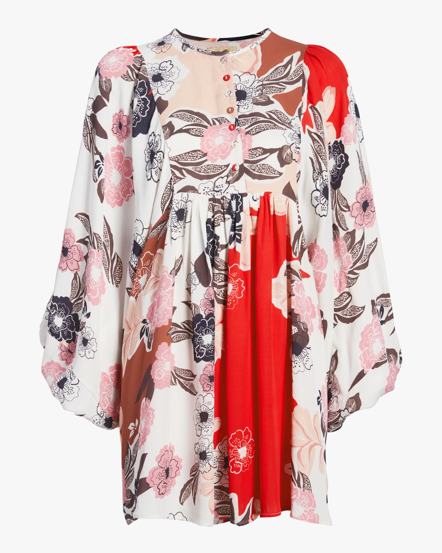 byTimo Vintage Drape Shift Dress 0