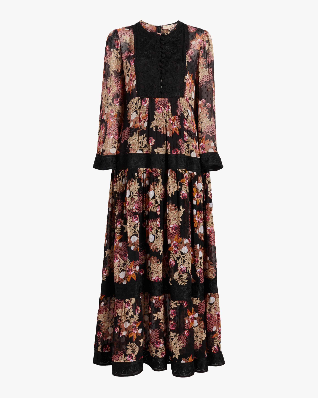 byTimo Ribbon Semi Midi Dress 0