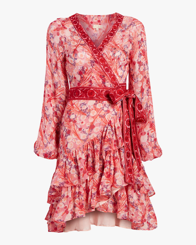 byTimo Ribbon Semi Wrap Dress 1