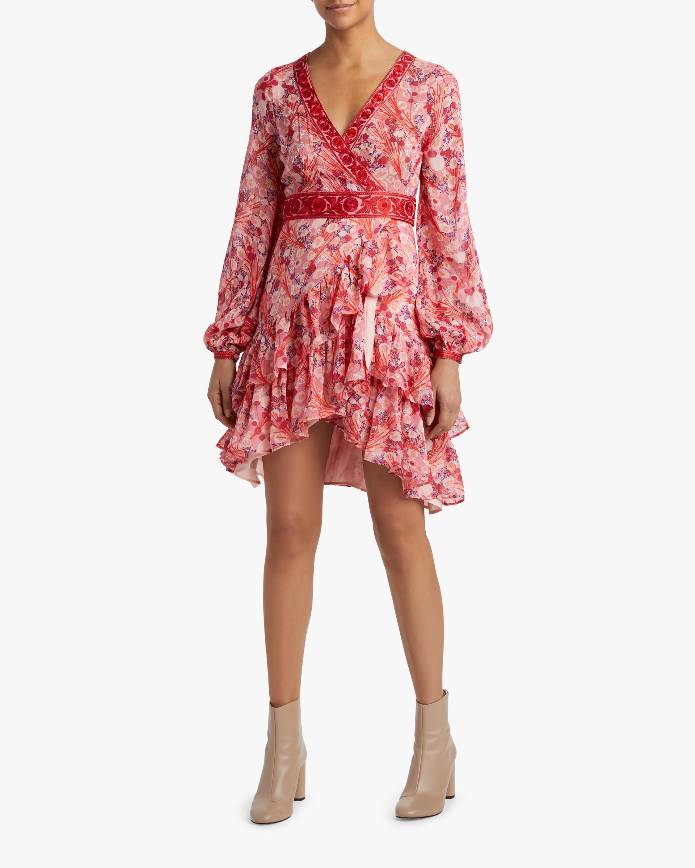 byTimo Ribbon Semi Wrap Dress 2