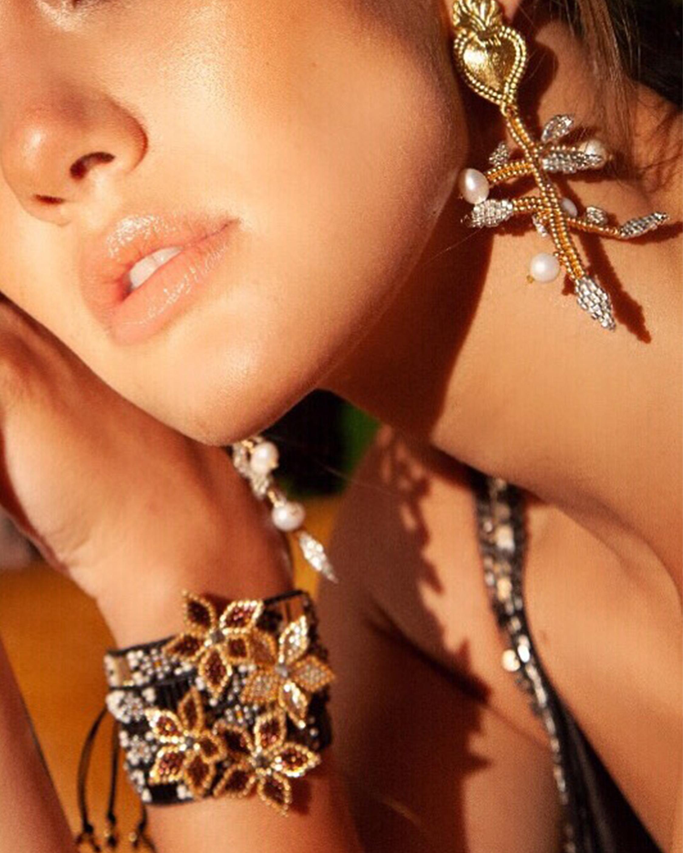 Maria Gold Earrings