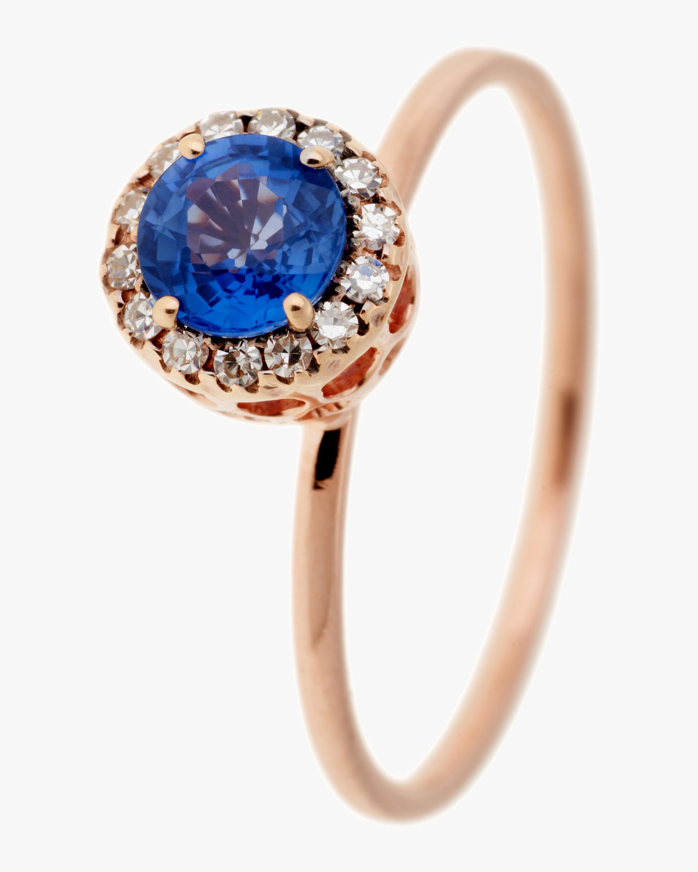 Selim Mouzannar Diamonds and Sapphire Ring 0