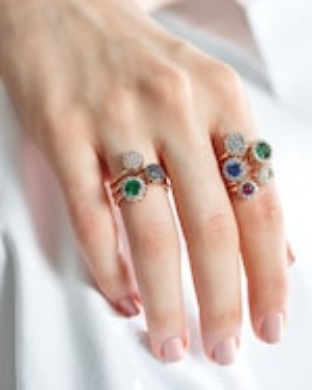 Selim Mouzannar Diamond & Sapphire Ring 1