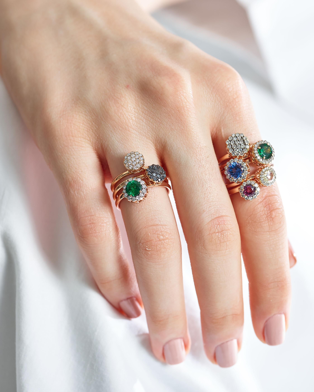 Selim Mouzannar Diamonds and Sapphire Ring 1