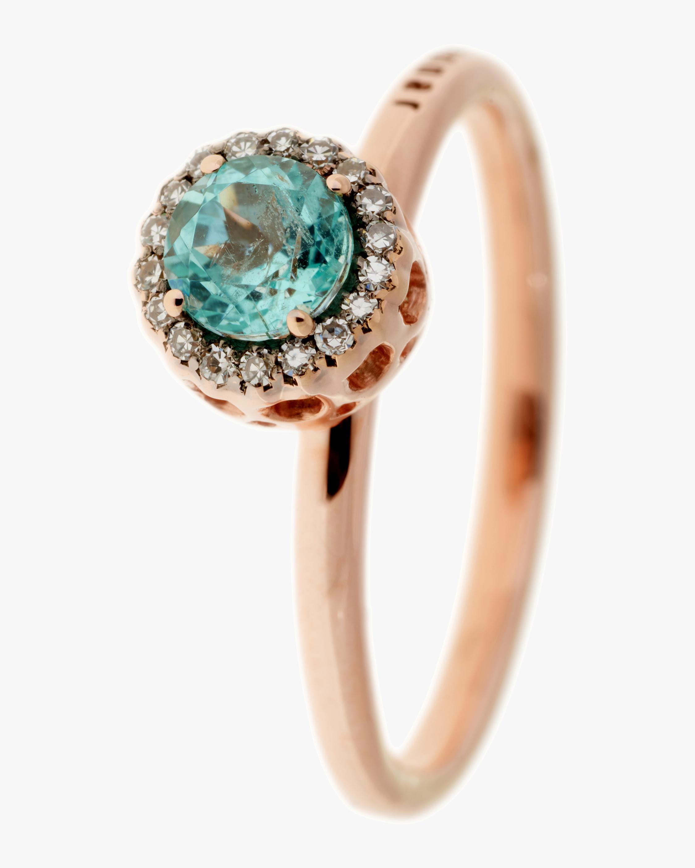 Selim Mouzannar Diamond and Paraiba Ring 0