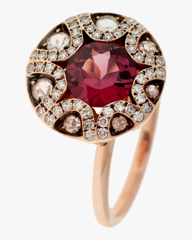 Selim Mouzannar Diamond and Rhodolite Ring 0