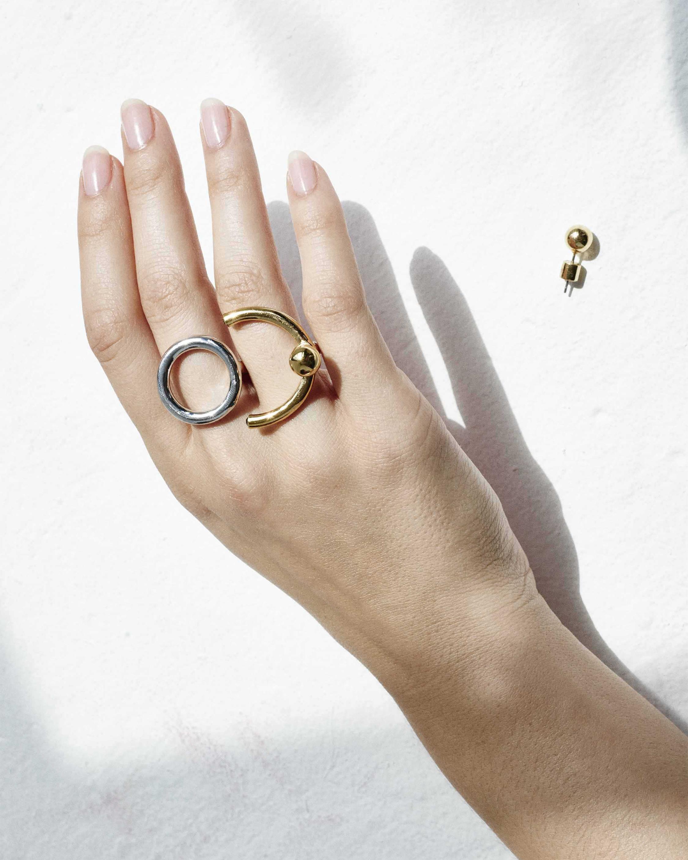 Demarson Nova Convertible Icon Single Earring/Ring 1
