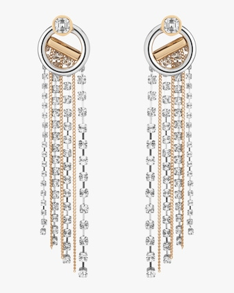 Skye Crystal Drop Earrings